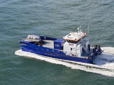 seazip1 - offshore - schip - duurzame - windmolenpark