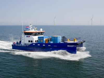 seazip1 - offshore - schip - duurzame - energie