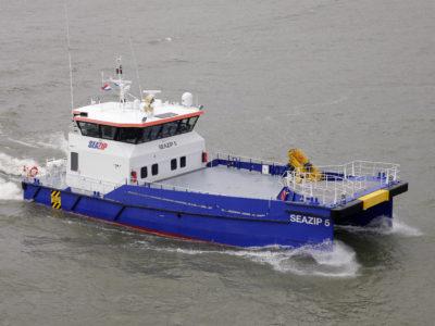 seazip5 - offshore - schip - duurzame - windenergie