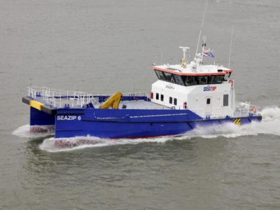 seazip6 - offshore - schip - duurzame - windenergie