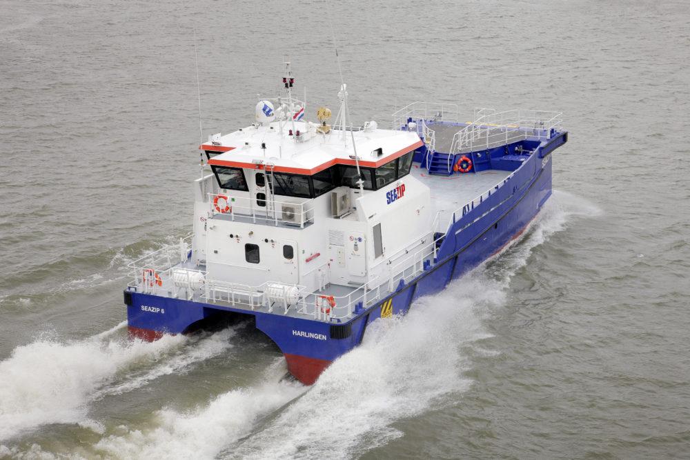 Highly Versatile Offshore Service Vessels Ctv Seazip 6