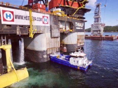 SeaZip 4 - Heerema - Thialf - SeaZip Offshore Service BV